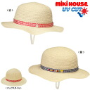 Summer hat fs04gm of the Miki house (mikihouse) blade tape material