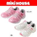 Miki house (mikihouse) enamel mesh kids shoes