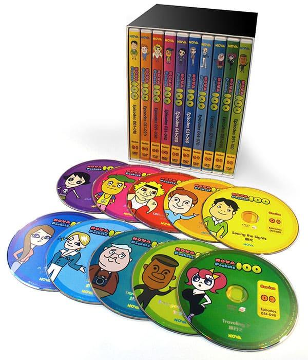 「NOVA Pockets100」DVD-BOX ※10巻セット