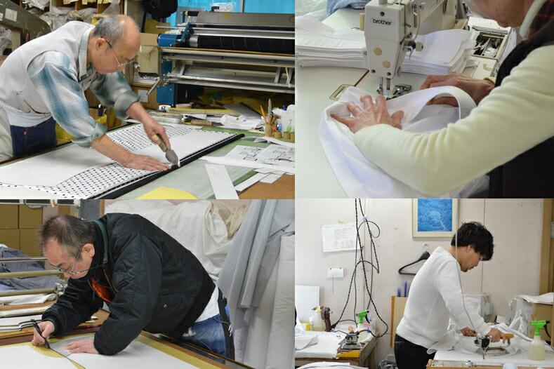 真田幸村シャツは奈良のシャツ工場で製作しております