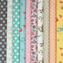 11 / 4 10:00 START ☆ YUWA ハーフリネン cut cross 10 piece set fabric / cloth floral dot Strawberry sewing cotton hemp