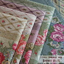 YUWA cotton hemp REMEMBER QUILTS/ cloth cloth floral design flower diamond
