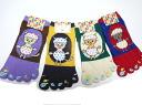 Ladies ' socks egg CAT five finger sneakers