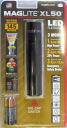 Three MAGLITE Maglite LED XL50 black size AAA batteries