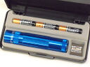 Three MAGLITE Maglite LED XL200 blue size AAA battery gift boxes