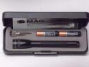 미니 맥 라이트 2AAA LED 블랙 선물 상자 MINI MAGLITE 플래쉬 단 4 건전지 2 개 형