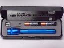 미니 맥 라이트 2AAA LED 블루 선물 상자 MINI MAGLITE 플래쉬 단 4 건전지 2 개 형