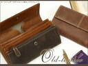 Old leather Garson style long wallet / アインソフ / leather wallet ladies long wallet Womens Leather o-sho