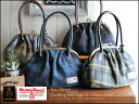 Art Harris Tweed & leather handle coin bags and direct money pouch bag casual shoulder bag check pattern ladies leather wool o-sho.