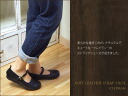 / CLEDRAN cowhide leather shoes shoes natural o-sho that strap shoes - black (L) is a reservation for the end of July arrival softly