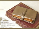 It is folio wallet - gold - / CLEDRAN wallet Lady's folio folio wallet Lady's real leather o-sho of the leather softly