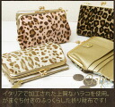 Folio wallet / ギャリーズ wallet Lady's folio folio wallet Lady's real leather o-sho with the pouch of good-quality Harako
