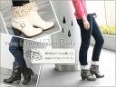 2way enamel rain boots (waterproof) o-sho