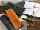 Notebook cover (Franklin / Bible )■ AMSW-0260 pen case penholder grip real leather Lady's men o-sho for size) of the system notebook denim & soft leather