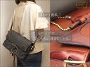 It is bag 2way real leather bag lady deerskin o-sho at foil bag - medium size / モキップショルダーバッグ bias of モキップディアレザー