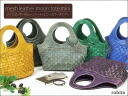 ムーントート mini mesh leather-color type ~ / robita leather bags women's o-sho