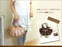 Basket tote bag - medium / try on (ラプラプ X hawk cat) / real leather bag lady o-sho of the leather & linen