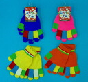 Colorful gloves 4 colors