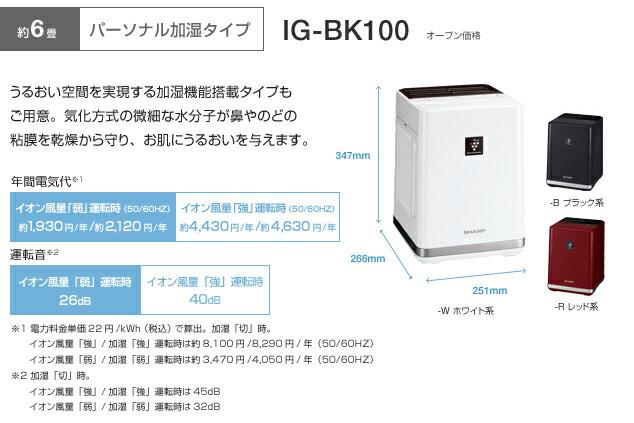 �ץ饺�ޥ��饹����������ȯ���� IG-BK100 �ѡ����ʥ�ü������ס�SHARP:���㡼�ס�