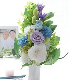 カサブランカ25輪とグリーンの花束