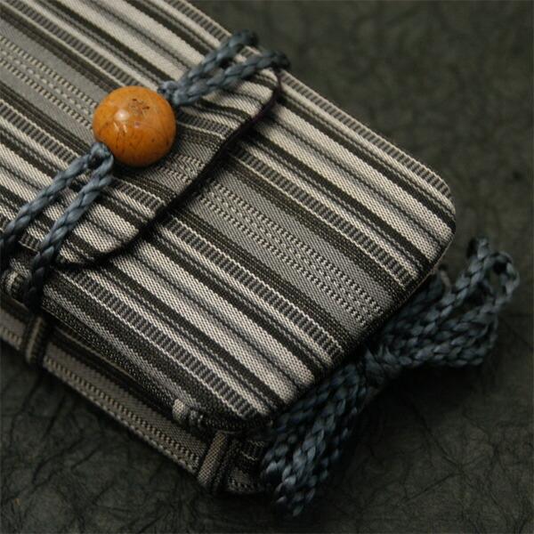 京都の古布のおとりよせ 名物裂の印籠型携帯ケース