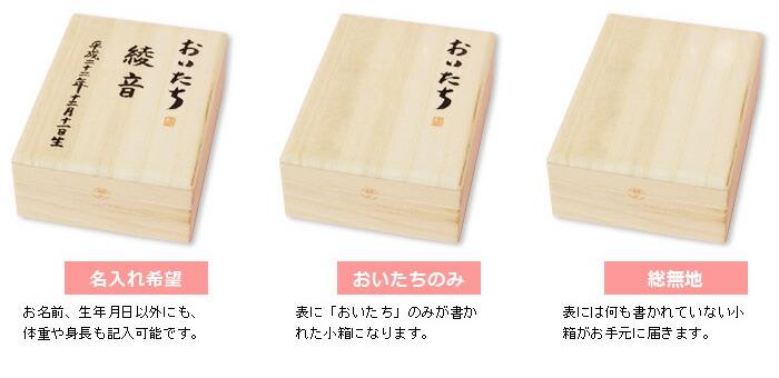 おいたちの小箱 A6版 内箱ロング:エチュード