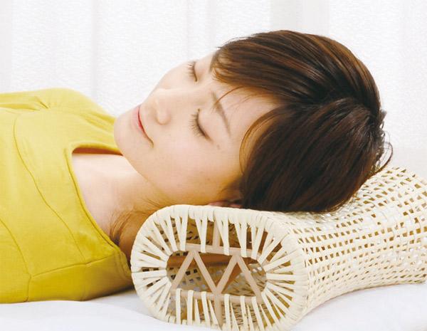 籐枕 イメージ