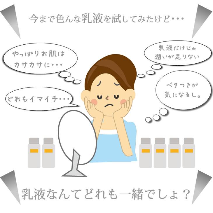 乳液なんてどれも一緒でしょ。乾燥からくるあらゆる肌トラブルを解消!白金セラミド美容乳液DUVOTA(ドゥボータ)ディープエフェクトエッセンス・プラチナ【馬プラセンタ】