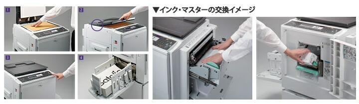 リコー印刷機Satelio DD 4440P