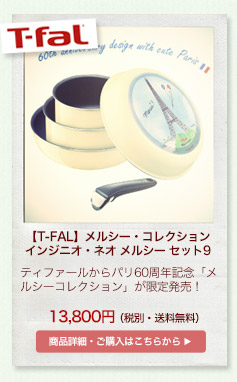 【T-FAL】メルシー・コレクション インジニオ・ネオ メルシー セット9