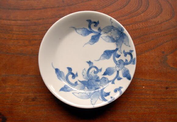 简笔画陶瓷碟子花纹