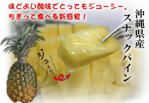 沖縄県石垣島産スナックパイン!