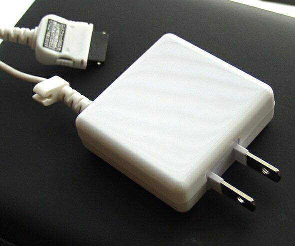 携帯充電器AC充電器AC-63LWFOMA/SoftBank3G対応2.5mロングコード使いやすく人気です!