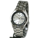 SEIKO five self-winding watch men SNKG19J silver