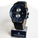 GRANDEUR Grand Dole leather chronograph OSC022W6