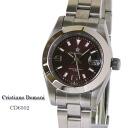Christiano Domani Christiano Domaine female quartz CD6502 Brown