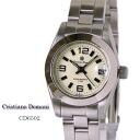 Christiano Domani クリスチャーノ Domani Lady's quartz CD6502 entire surface Lumi Brightman