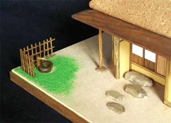 技能系列木制建筑模型