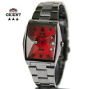 Orient star オリエントスリー star cut glass WV0331PV gunmetal / deep red