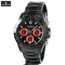 GRANDEUR chronograph OSC031W2 black IP version