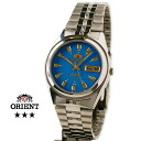 Orient Overseas model mens automatic winding TEM4J003L aqua blue
