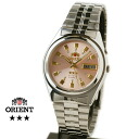 Orient Overseas model mens automatic winding TEM4J003M pink