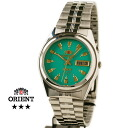 Orient Overseas model mens automatic winding TEM4J003N emerald green