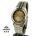 Orient Overseas model mens automatic winding TEM4J003P グラデーションブラウン