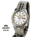 Orient Overseas model mens automatic winding TEM 4 J003W white