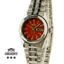 Orient South America model ladies automatic winding red TNQ1P003H