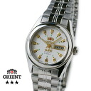 Orient South America model ladies automatic winding white TNQ1P003W
