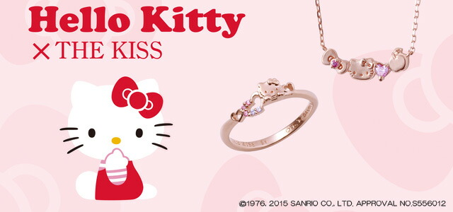 Hello!Kitty×THE KISS