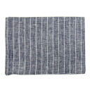 fog linen Tea towel Navy white stripe