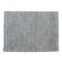 fog linen Tea towel gray x white stripes 10P28oct13